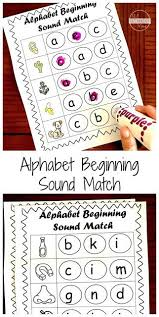 These printables will help students understand the concept of long and short vowels. Free Beginning Sounds Worksheets