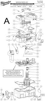 milwaukee 0880 20 parts list and diagram ser b34a click to close