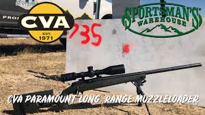 Cva Ballistics Chart Cva Paramount Long Range Muzzleloader Review