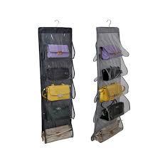 2019 new closet durable door pockets fashion handbags finishing hanging bags organizer hang storage s from smilemen 20 17 dhgate com