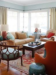 Small Picture Design Ideas for a Red Living Room Better Homes and Gardens
