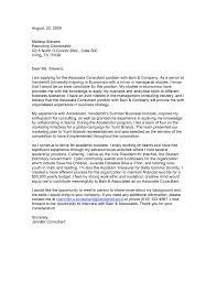 sample cover letter to job consultant  cover letter examples