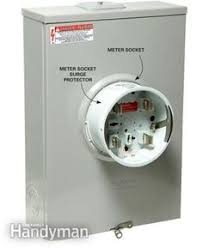 leviton residential multimedia surge protection panel 005 51110 meter socket surge protector