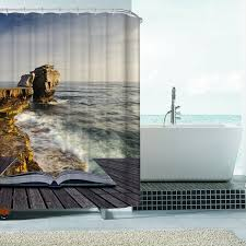 hot classic polyester waterproof shower curtains bath bathing sheer window curtain for home decorations shower curtains