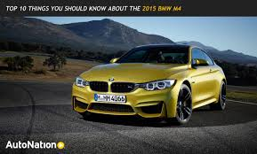 Sport Series bmw m4 top speed : Top 10 Things You Should Know About The 2015 BMW M4 - AutoNation ...