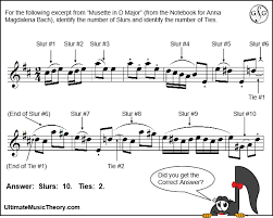 Click on the screenshot image to the left or the bold title link above to download in pdf. Counting Slurs Ultimate Music Theory
