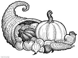 Small Picture Thanksgiving Cornucopia Coloring Pages 29395 Bestofcoloringcom
