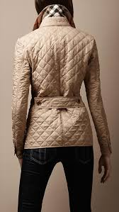 24 best Burberry images on Pinterest | Accessories, Beautiful and ... & Burberry - CINCHED WAIST QUILTED JACKET- in Chino,red,black,navy & Adamdwight.com