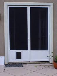 automatic doggie door wondrous sliding doors with door automatic door for sliding glass doors with pet