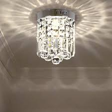 mini led crystal lighting 3w led ceiling lights led strip abajur small entrance corridor lights modern