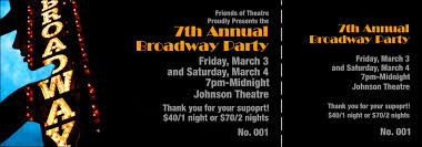 broadway ticket template broadway event ticket