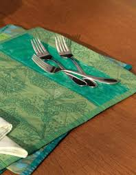 4 Free Patterns for Quilted Table Runners, Napkins & More - The ... & Get quilted placemat patterns free to create designs like this one. Adamdwight.com