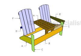 double adirondack chair plans. Building Double Adirondack Chairs Chair Plans