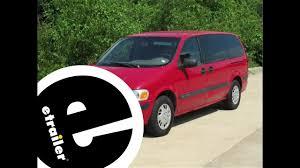 Trailer Hitch Installation - 1998 Chevrolet Venture - etrailer.com ...