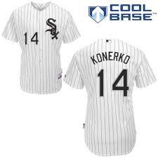 Paul Sox Konerko White Chicago Jersey