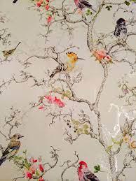 B&Q wallpaper birds. I love this one ...