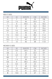 Puma Shoe Size Chart Puma Soccer Cleats Size Chart Sale Up To 38 Discounts