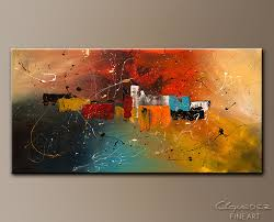 celebration abstract art painting image by carmen guedez