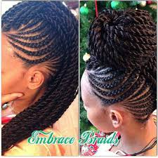 Afro Braid Hair Style gorgeous embracebraids blackhairinformation 7684 by wearticles.com