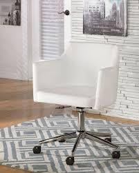 devrik home office desk chair 1. Baraga White Home Office Swivel Desk Chair Devrik 1 I
