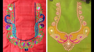 Embroidered Jacket Designs Superb Thread Embroidery Work Blouse Designs For Silk Saree Silk Saree Blouse Designs Maggam Work