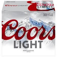Case Coors Light Coors Light Beer