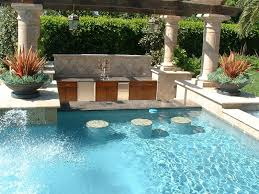 Pool designs with swim up bar Fire Pit Small Swimming Pool Ideas Swim Up Granite Top Counter Bar With In Pool Stools And Oamoz Pools Small Swimming Pool Ideas Swim Up Granite Top Counter Bar With In