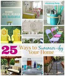 25 ways to summer ify your home