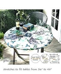 full size of round outdoor table cover aluminum patio inch wicker kitchen exciting awesome 36 high