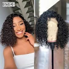 bob wigs short curly bob lace front