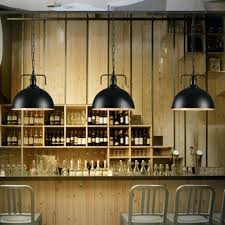 industrial elegant shade light pendant lamp with chain hanging kitchen bar restaurant decorative lights lighting simple