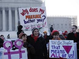 same sex marriage happening now kelsey wetzel s rcl blog supporters protest in dc