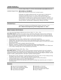 Adorable Maintenance Engineer Resume Template For Field Service