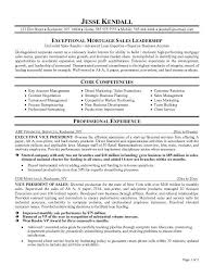 example mortgage executive resume free sample sample executive resume format
