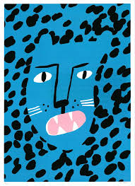How the Leopard Got His Spots by Lucy Kirk || Print Club London