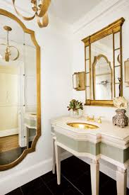 French Bathroom Sink The Enchanted Home Gold Bathroom Mirror Sink French Style Decor