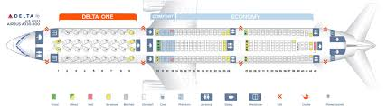 Airbus A333 Delta Seating Chart Delta Airbus Industrie A333 Jet Seating Chart Elcho Table