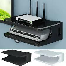 home floating shelf for tv components