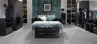 bedroom furniture black. knightsbridge black u0026 gloss finish bedroom furniture