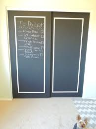 spray paint sliding glass door chalkboard doors instructions interior front door trim ideas