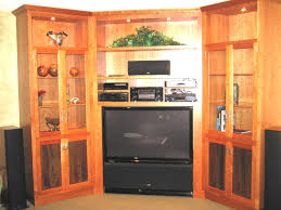 Large Cabinet With Doors Furniture Outstanding Living Room Decoration Using Large Oak Wood