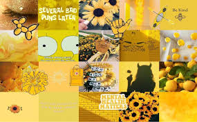 Yellow Aesthetic Backgrounds For Laptop ...