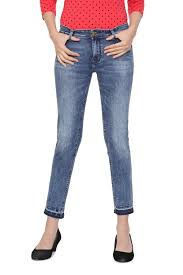Solly Jeans Jeggings Allen Solly Blue Jeans For Women At Allensolly Com