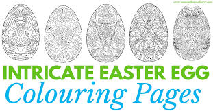 Small Picture Adult Easter Colouring Pages Intricate Eggs Mum In The Madhouse