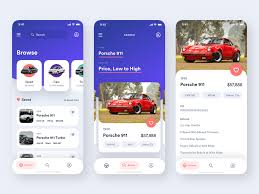 Car Ux Design 5 Stunning Car Marketplace User Interface Ux Planet