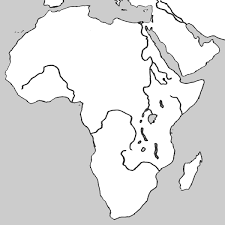 Map Of Africa Blank Under Fontanacountryinn Com