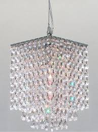 impressive hanging crystal chandelier popular rectangle pertaining chandelier crystals diy
