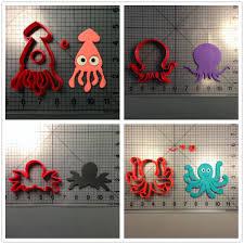Cupcake Design Kitchen Accessories Online Get Cheap Octopus Cookie Cutter Aliexpresscom Alibaba Group