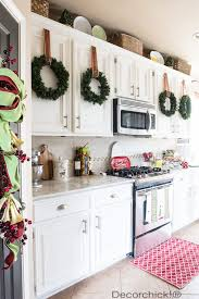 decor kitchen kitchen: ideas for making christmas kitchen decorations original prints and natural for any type
