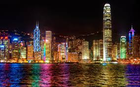 Where To See Symphony Of Lights Hong Kong A Symphony Of Lights Hong Kong Wallpaper 2560x1600